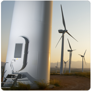 Temperature measurement in wind turbines