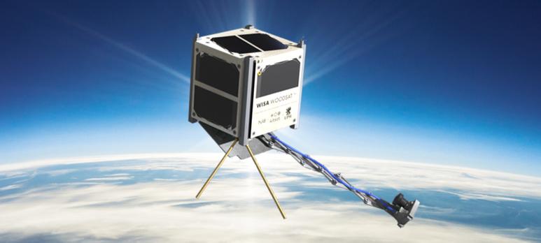 WISA Woodsat nanosatellite with Sens4 vacuum measurement